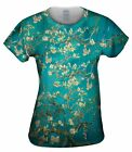 "Yizzam - Van Gogh - ""Blossoming Almond Tree""- New Ladies Top Women Tshirt Tee"