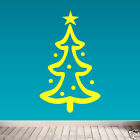 CHRISTMAS TRANSFERS & STICKERS VINYL CONCEPT DECALS WALL OR WINDOW XMAS TREE 01