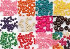 1000pcs Wholesale Colorful Wood Spacer Beads Seed Beads Jewelry Finding 4x3mm