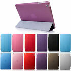 ULTRA SLIM MAGNETIC SMART STAND CASE + HARD BACK COVER FOR APPLE IPAD MINI 1 2 3
