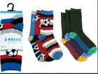BOYS CASUAL SOCKS WITH FOOTBALL AND CAR RACING PRINT SK331A