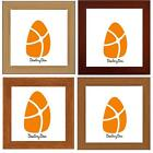 SQUARE WOOD 5 WOODEN COLOURS POSTER PICTURE FRAME ALL SIZE PHOTO Stand Wall Hang