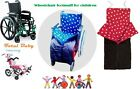 Wheelchair Footmuff for children / disability - Age 7 to 10 years old
