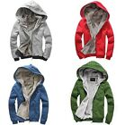 1pcs Trendy Men's Warm Winter Hooded Hoodies Designed Jackets Coat Tops 5 Colors