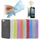For Apple Iphone 4S/4 iphone 5 Cell Phone Cases w Screen Protector Skins Matte