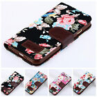 Leather Retro Rose Flower Canvas Wallet Case Cover For Samsung Galaxy S3 I9300