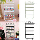 Trendy 48 Hole Earrings Jewelry Display Rack Metal Stand Holder Showcase New
