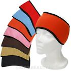 Winter Mens Womens Fleece Earband Stretchy Headband Earmuffs Earwarmers