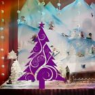 Large Christmas Tree Vine Design Shop Window Wall Art Decoration Sticker Decal
