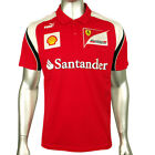 Mens Puma SF Scuderia Ferrari Formula 1 One Team Polo Shirt   Top Motorsport