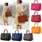 Fashion Ladies Womens PU Leather Shoulder Bag Boho Tote Handbag