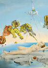 Salvador Dali ''Dream Caused by the Flight of a Bee'' Giant Poster,various sizes