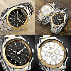 OUYAWEI Stainless Steel Band 6 Hand Date-day Mechanical Automatic Wrist Watch