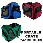 New MTN Medium Dog Pet Puppy Portable Foldable Soft Crate Playpen Kennel House