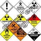 Dangerous substances labels stickers signs health & safety H&S flammable gas 2