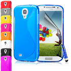 Wave S-Line TPU Silicone Gel Skin Case Cover For Samsung Galaxy S4 i9500 9505