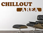 Wandtattoo Chillout Area WT067
