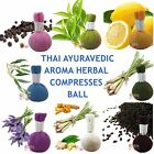 SPA BALL ESSENTIAL OIL HERBAL COMPRESSED BALL SPA MASSAGE FREE SHIPPING