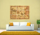 THE CHRONICLES OF NARNIA GIANT MAP POSTER,Various sizes from A3 up to 126x89.1cm