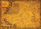 Lord Of The Rings , ROHAN MAP Large Poster, various sizes