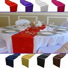 5 Satin Table Runner Wedding Party Decoration Home Supply 26 Colors U Pick