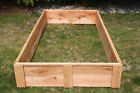 Cedar Raised Bed Garden Boxes made in the USA grow your own organic vegetables