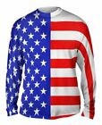 Yizzam- American Flag - New Mens Long Sleeve Tee Shirt XS S M L XL 2XL 3XL 4XL