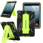 Defender Rubber Heavy Duty Hybrid Protector Case Stand Cover For iPad 2 3 4 Gen