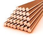 1000mm Round Copper Bar Milling Engraver Copper Round Bar C101 Grade All SIZES