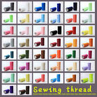 Внешний вид - New 44 Colors 100% Polyester Standard Sewing thread each thread 200 Meters pick