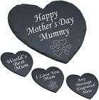 Personalised Heart Slate Cheese Board Mom Step Mum - Mothers Day Gift Engraved