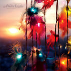 Aladin 20 Feather String Lights Fairy,New Home/Patio/Wedding Decor/Lighting UK
