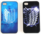 Attack on Titan Shingeki no Kyojin iPhone 4/4S/5/5S Scrub Case Cover Cosplay