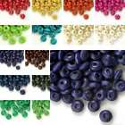 680pcs Loose Rondelle Wood Wooden Spacer Beads Charms Jewelry Findings 3x6mm