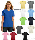 WOMEN'S 100% PRESHRUNK ORGANIC COTTON, BASIC CREWNECK T-SHIRT, S M L XL 2X 3X 4X