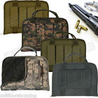 "Tactical Polyester Rugged Pistol Case 12 1/2 x 9 1/4 x 3"" - Padded Protection"