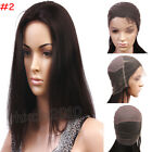 100% India Remy Human Hair Full Lace Wig YAKI Straight Customize Acceptted
