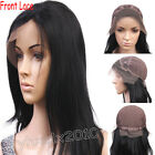 Front Lace Wig India Remy Human Hair YAKI Straight Customize Accept ANY SIZE