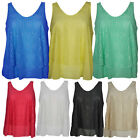 Ladies Womens Crochet Batwing Belted Top Dress Vest Knitted Jumper Tunic 8-14