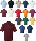 MEN'S 3 BUTTON, POLO SHIRT, MID-WEIGHT, SOLID, 19 COLORS! XS-6XL, TALL LT - 6XLT