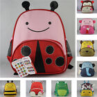 new kids girls boys animal backpack school bag lunch box rucksacks back pack