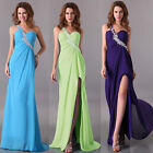 Evening Formal Party Prom Homecoming Bridesmaid Wedding Long Maxi Dress 3 Colors