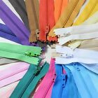 """20-50pcs 7"""" Assorted Color Closed Clothes Tailor Sewing Craft Nylon Zippers Hot"""
