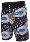 Quiksilver Men's Trade Winds Diamond Dobby Board Shorts-Black/Multi