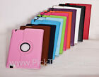 360 ° ROTATING LEATHER CARRY COVER CASE STAND ROTATE flip  FOR APPLE IPAD 2 3 4