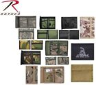 Rothco Military Wallets Coyote Black Camo ACU Woodland Digital Don't Tread On Me
