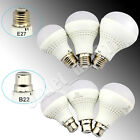 UK E27 B22 7W 9W 12W Bright Bayonet Golf LED Light Bulbs Lamps Ball Globe White