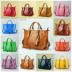 %100 Real Leather Genuine Cow Leather Handbags Lady briefcases Shoulder Bags
