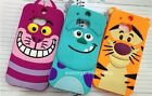 Cute Fitted Cartoon Cat Animal Sulley Soft Silicone Case cover for HTC ONE M7 M8