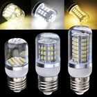 SMD3528 Home Dimmable E27 Base 2W/3W/4W LED Corn Light Bulb Lamp w/Cover C1MY